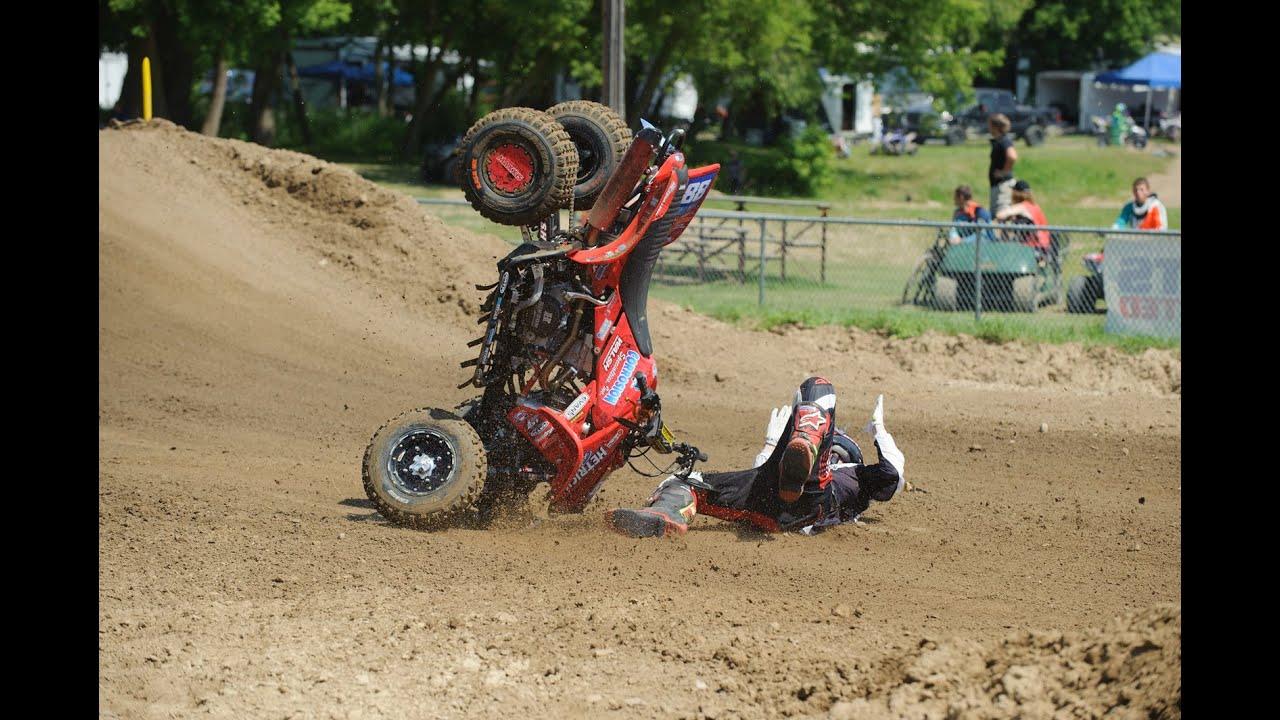 Joel Hetrick Crash At Spring Creek