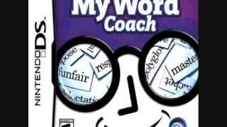 My Word Coach - Menu