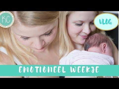 Emotionele week 😢 en huiselijk👶🏻💞  | Kraamtijd VLOG #4 | Kelly caresse