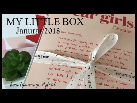 Unboxing | My little Box Januar 2018 | Feminismus? | beautyoverage Astrid