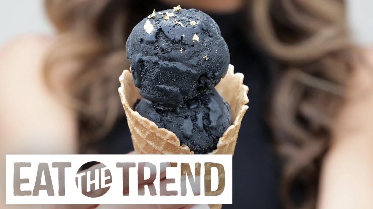 How to Make Black Ice Cream at Home  Eat the Trend  YouTube