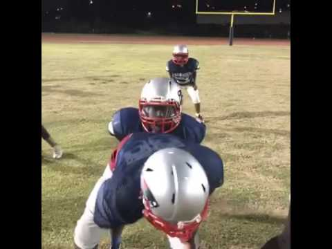 Snoop Youth Football League - 11U Long Beach Patriots getting ready for their 1st game