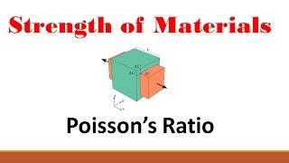 Strength of Materials (Part 3: Poisson's Ratio)