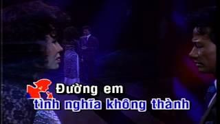 Đoạn Cuối Tình Yêu - Chế Linh ft.Thanh Tuyền KARAOKE