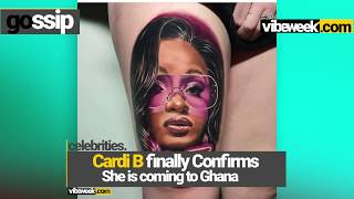 Cardi B Set To thrill Music Fans in Ghana   Vibeweek.com
