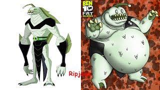 Ben 10 Aliens As Fat | Ben 10 Aliens In Real Life | All Characters