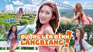 Thử Thách Mang Giày Cao Gót Đi Bộ Lên Đỉnh LangBiang | Meena Channel