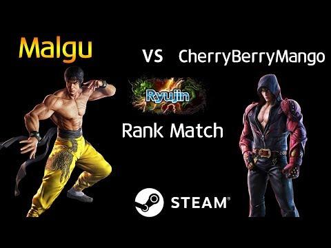 -Ryujin Match- 말구 (로우) vs 체리베리망고 (진) (TEKKEN 7 - Malgu vs CherryBerryMango)