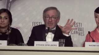 Cannes 2013 - Steven Spielberg explains the choice of the Palme d'or