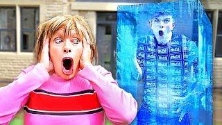 I Spent 24 Hours Frozen Alive - Challenge
