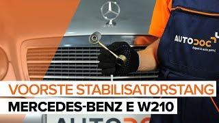 Stabilisatorkoppelstang vervangen MERCEDES-BENZ E-CLASS: werkplaatshandboek