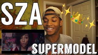 SZA SUPERMODEL |Reaction