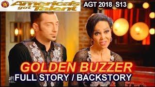 Quin and Misha GET GOLDEN BUZZER FULL STORY /BACKSTORY  America's Got Talent 2018 Judge Cuts 3 AGT