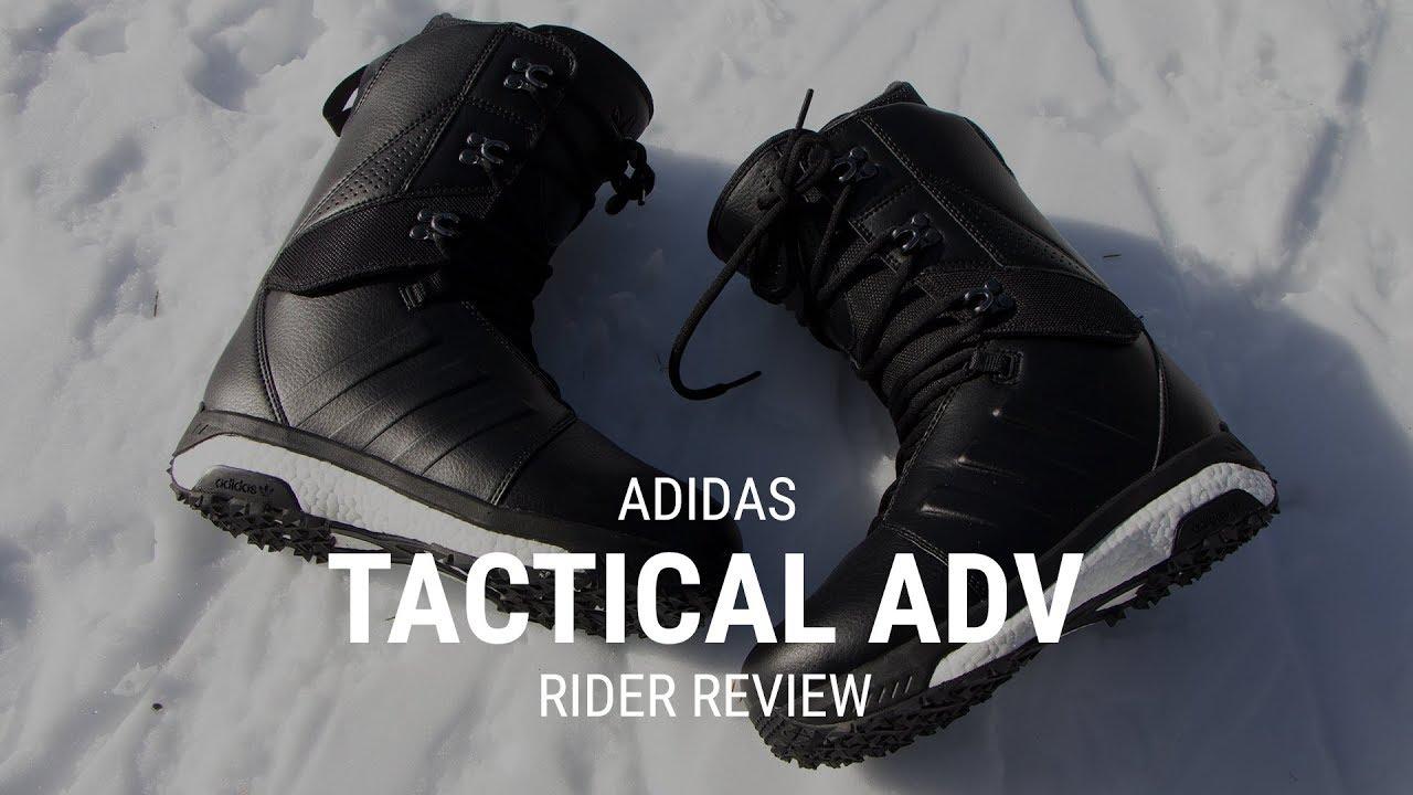wholesale dealer a7008 61437 Adidas Tactical ADV 2019 Snowboard Boot Rider Review - Tactics.com