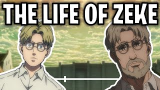 The Life Of Zeke Yeager (Attack On Titan)