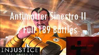 Injustice Gods Among Us iOS - Antimatter Sinestro II Challenge Full 189 Battles