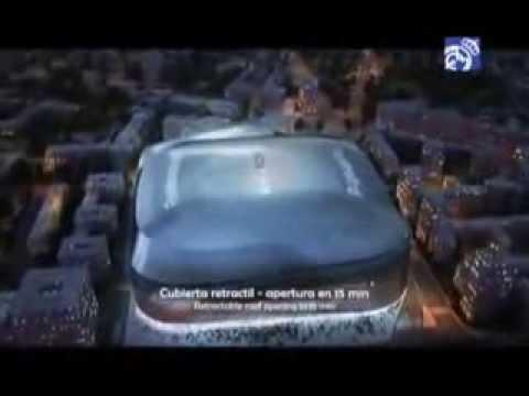 Download Présentation du nouveau et futur stade Santiago Bernabeu