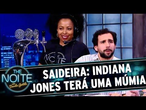 The Noite (03/12/15) - Saideira Da Noite: Indiana Jones Vai Ganhar Novo Filme Com Uma Múmia