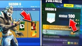 BIG BUG PALIER 100 FREE ON FORTNITE BATTLE ROYALE!!!