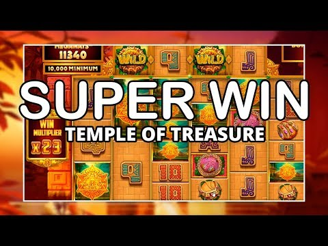 SUPER WIN on TEMPLE OF TREASURE MEGAWAYS!! (Blueprint)