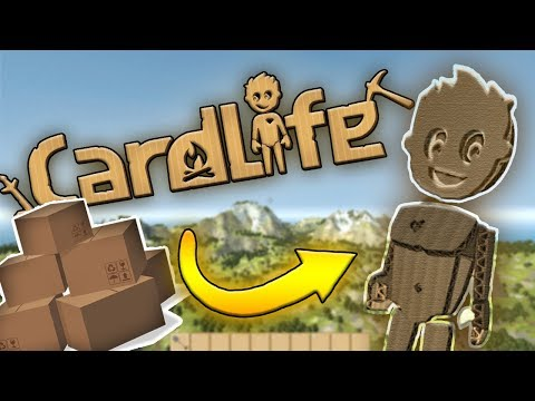 THE WORLD IS MADE FROM CARDBOARD?! |  CARDLIFE! | Amy Lee33