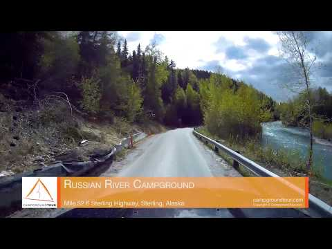 Russian River Campground, Sterling Highway, Cooper Landing, Alaska