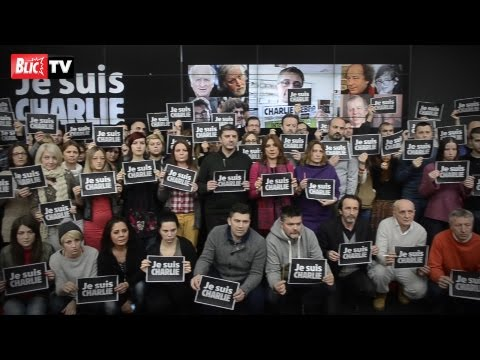 Zaposleni Ringier Axel Springera odali počast ubijenim kolegama u Francuskoj