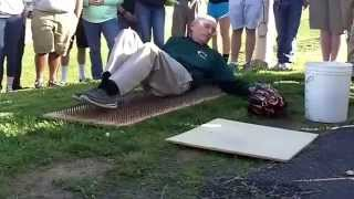 Cinder Block and Bed of Nails