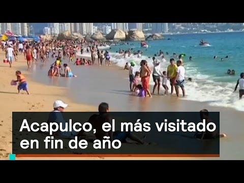 Acapulco, el lugar más visitado para fin de año - Noticias con Karla Iberia