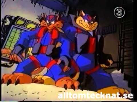 Swat Kats/Katter med Klös (Svenskt/Nordisk/Swedish/Nordic) intro TV3
