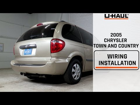 2005 Chrysler Town And Country Wiring Harness Installation