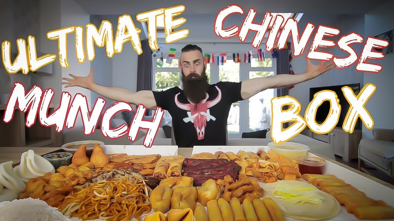 THE BIGGEST CHINESE MUNCH BOX IN THE UNIVERSE | BeardMeatsFood