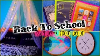Back to School DIY supplies & room decor Thumbnail