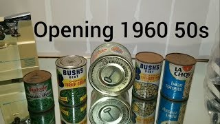 Canned Food Of The Sixties, Tasting, Opening Decades-old Canned Foods 9