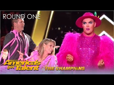 Download Accordion Hans CLASHES With Simon Cowell After Fabulous Act | @America's Got Talent Champions