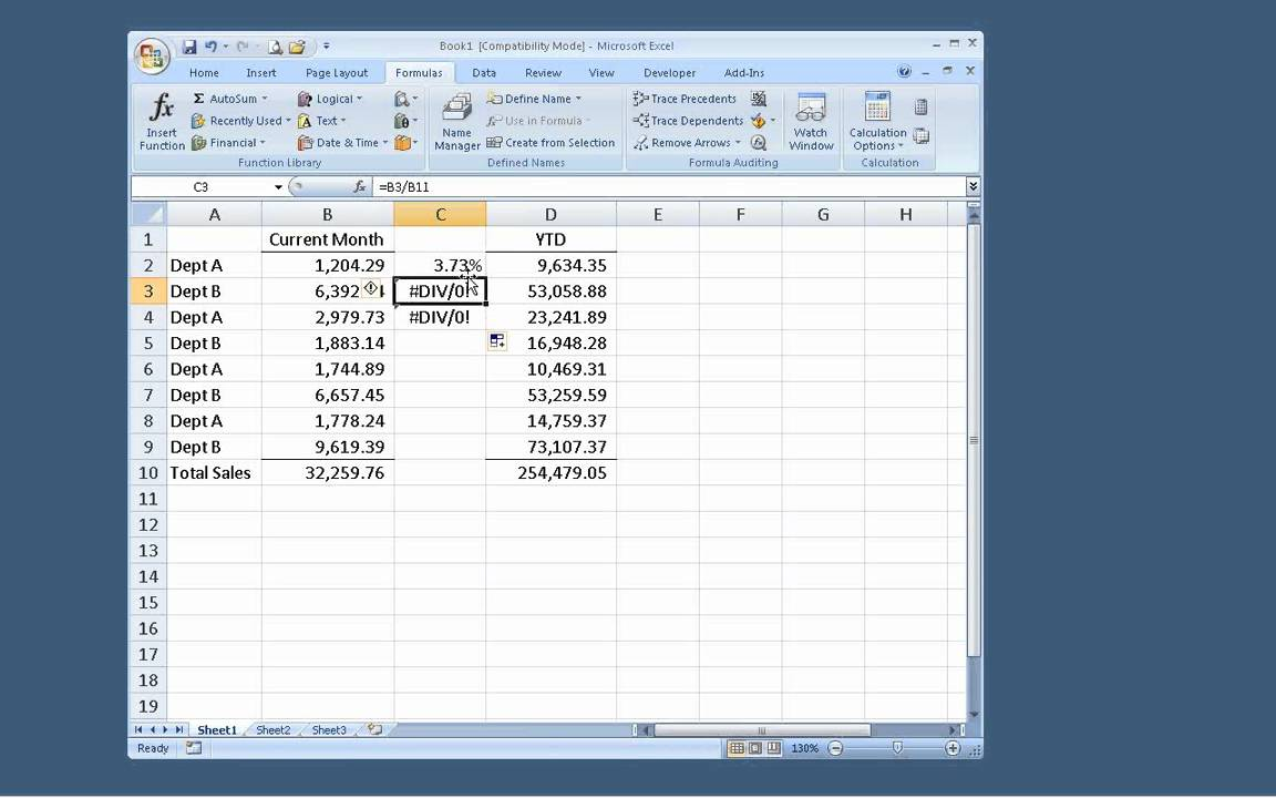 Relative Vs Absolute Cell References In Excel