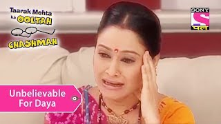 Your Favorite Character | Daya Unable To Believe Mrs. Bhide | Taarak Mehta Ka Ooltah Chashmah