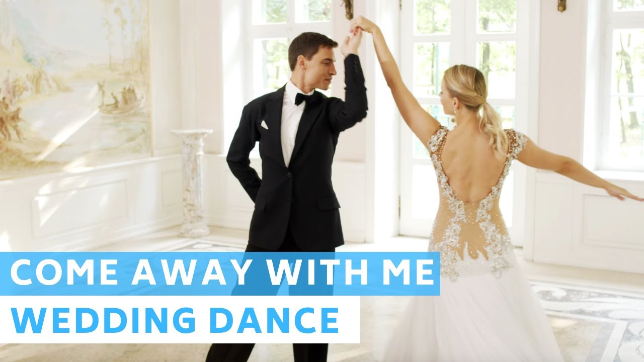 Come Away With Me - Norah Jones | Waltz | Wedding Dance Online | First Dance Choreography