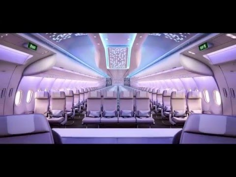 A330neo Cabin: Transforming Passengers' Flying Experience #Airbus