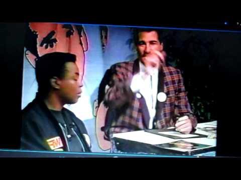 LEVAR BURTON w/ MR PETE Public  Access KTLA 5 1990 Peter Chacona Part 1 STAR TREK RAINBOW