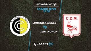 CSD Comunicaciones vs Deportivo Moron full match