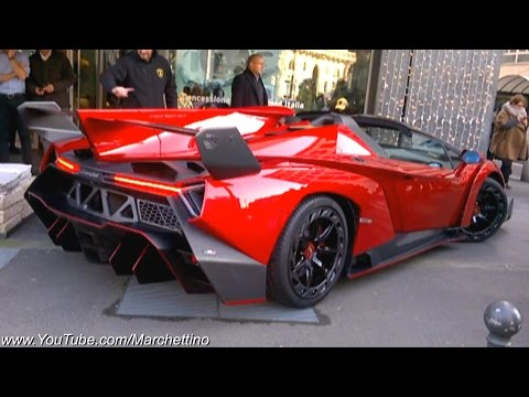 Lamborghini Veneno Roadster – €3.3m Hypercar On The Road