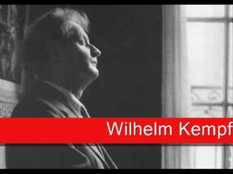Wilhelm Kempff:  Chopin - Fantaisie in F Minor, Op. 49