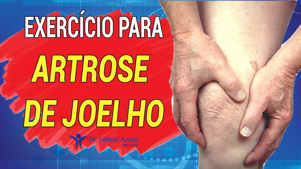 Exerc Cio Para Artrose De Joelho Youtube