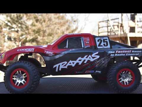 Best Bashing RC Car Traxxas Slash Brushless 4x4 Mark Jenkins Edition