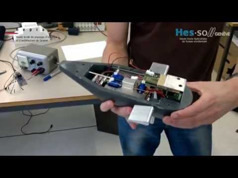 Design and Control of a Miniature Autonomous Underwater Vehicle