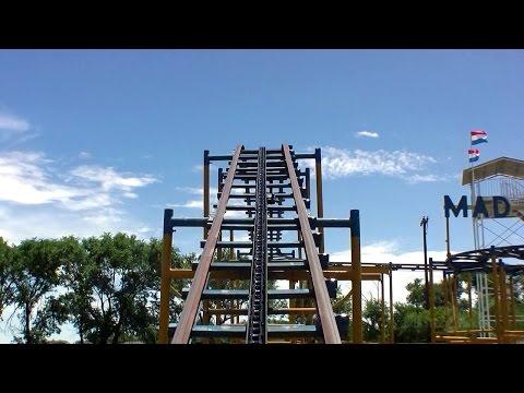 Mad Mouse POV - Joyland Amusement Park - Lubbock, Texas, USA
