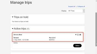 Expenses | Manage Trip Expense Reports video thumbnail