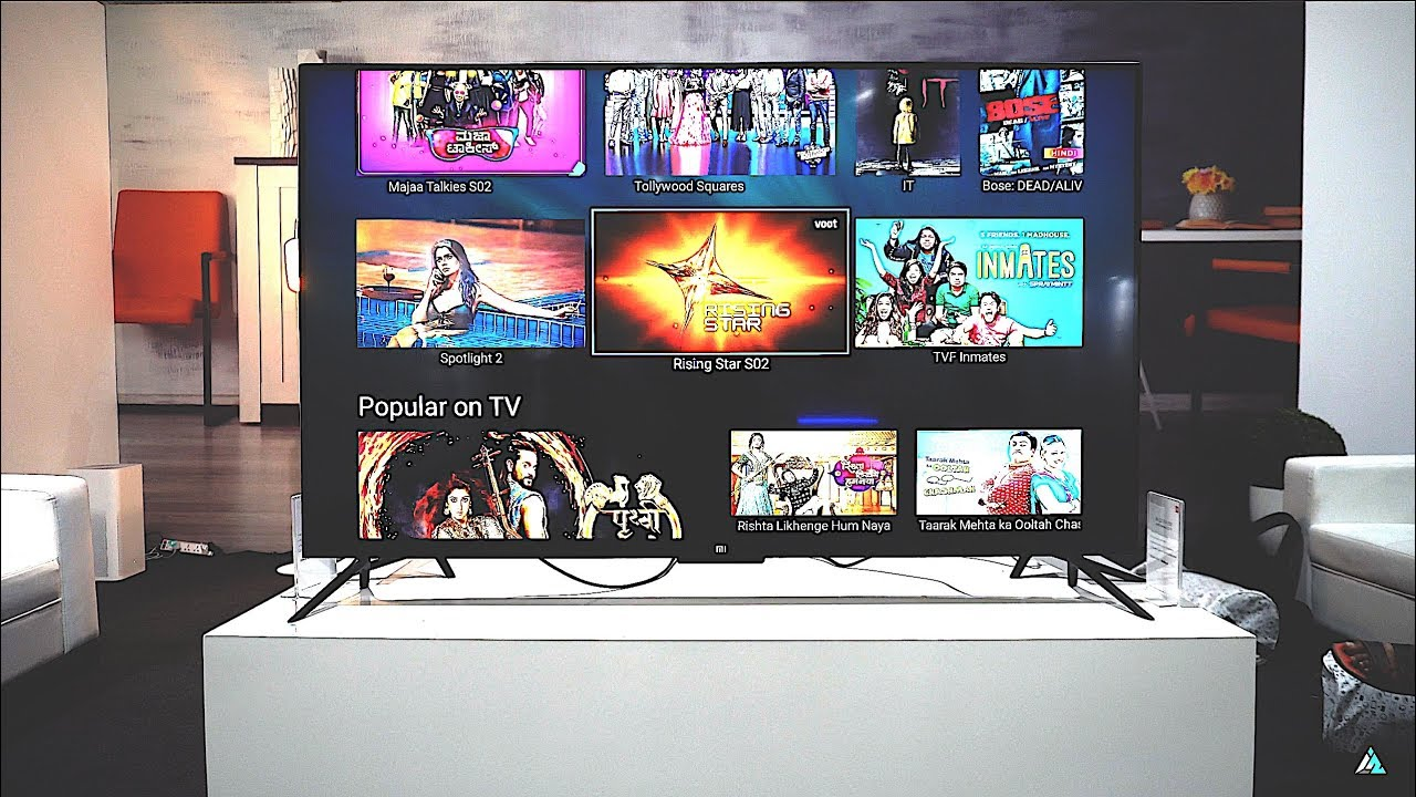 Tv 4 Xiaomi Mi Led Tv 4 55 Inch Hands On Review
