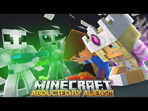 BABY LEAH IS ABDUCTED BY ALIENS w/ LITTLE DONNY!!!- Minecraft - Baby Leah Adventures.